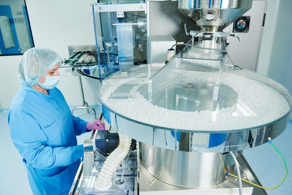 Pharmaceutical manufacturing image